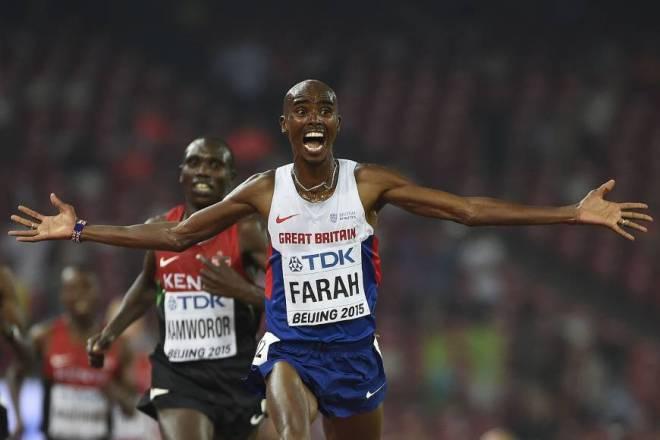 Mo Farah Wins 10,000 Meer Championship in Beijing