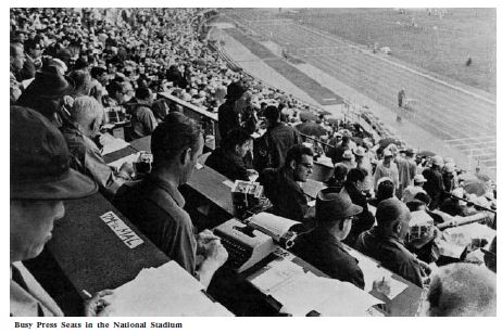 From The Games of the XVIII Olympiad Tokyo 1964