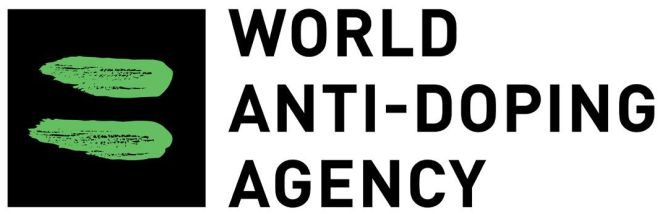 The logo for the World Anti-Doping Agency