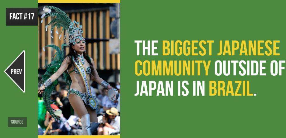 Fun Fact Brazil and Japan