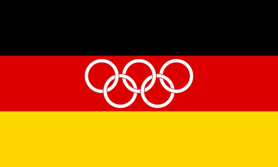 german olympic flag