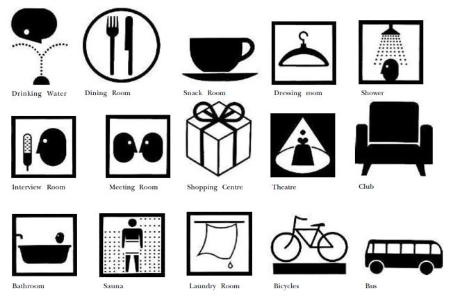pictograms at Tokyo Olympics_The Games of the XVIII Olympiad Tokyo 1964 Report