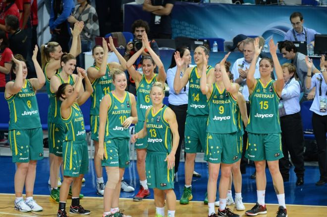 Australian women's basketball team