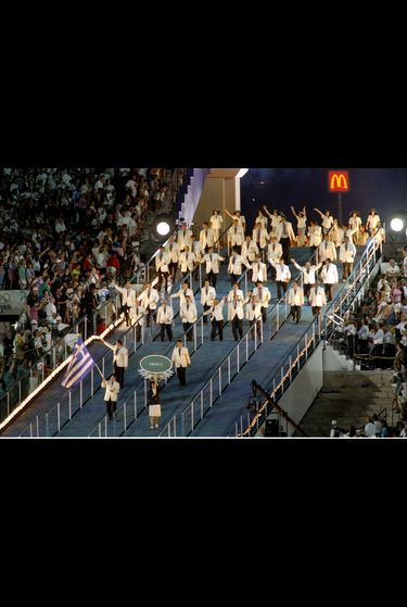 McDonalds at 1996 Atlanta Games
