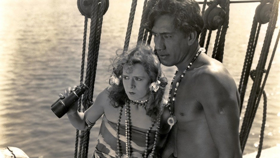 Anita Stewart and Duke Kahanamoku