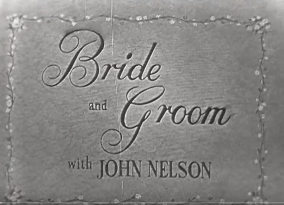 Bride and Groom_NBC title screenshot