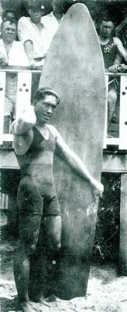 Duke Kahanamoku in Australia