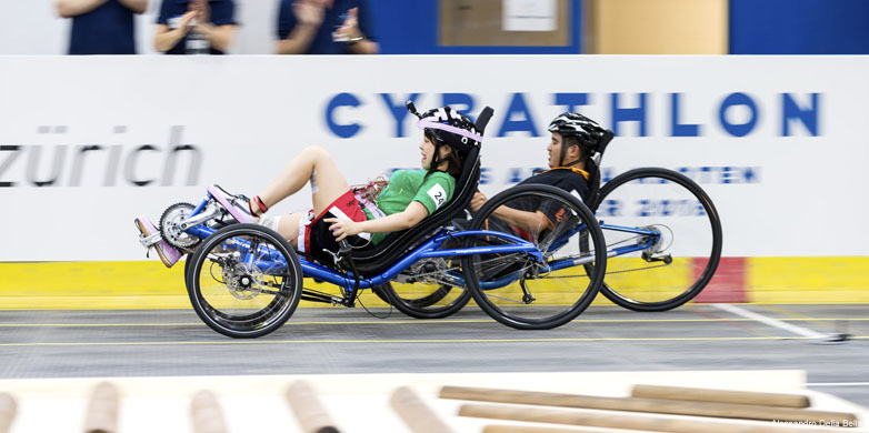 electrically stimulated muscles_Cybathlon