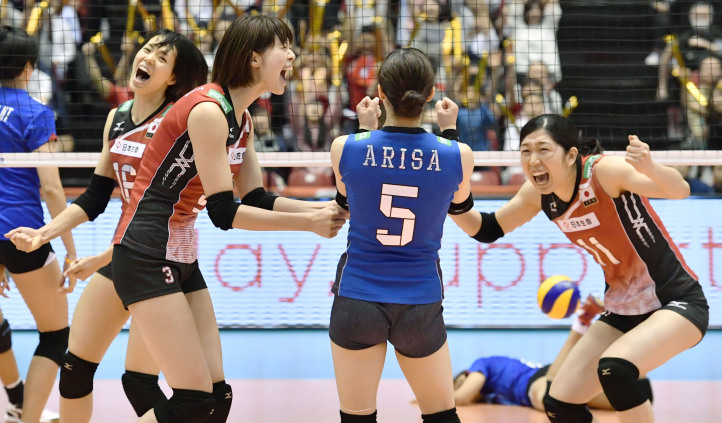 Japan womens volleyball defeat Thailand