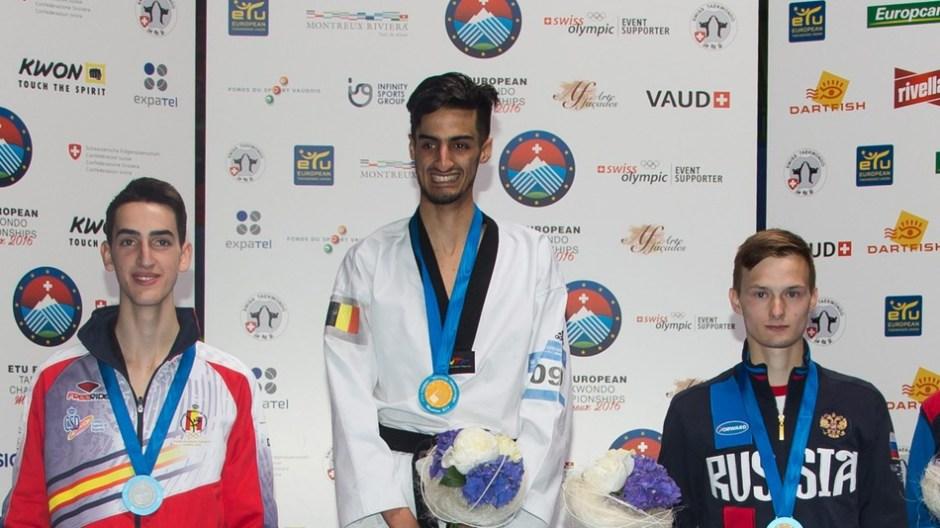 Mourad Laachraoui victorious