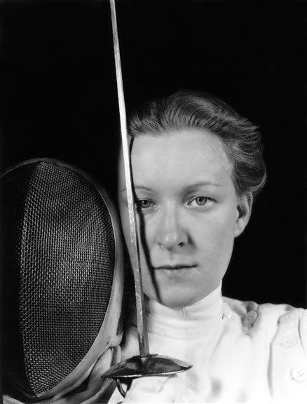 Helene Mayer portrait