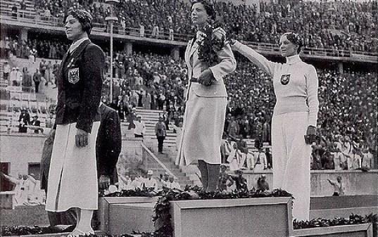 Helene Mayer's Salute at 1936 Berlin Games