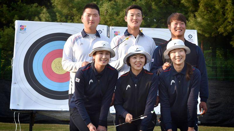 Korean Rio Archery Team