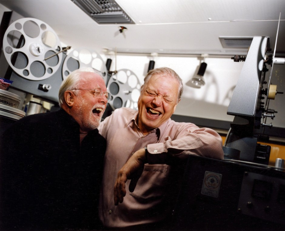 DAVID AND RICHARD ATTENBOROUGH - 2001