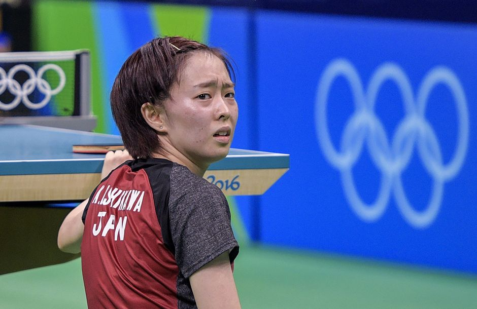 TABLE TENNIS-OLY-2016-RIO