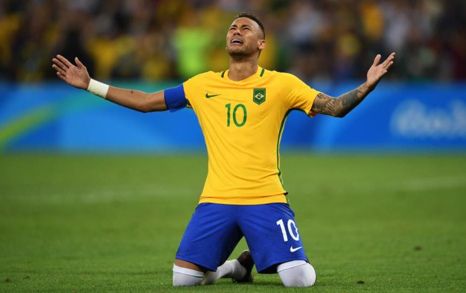 Neymar nails the final penalty kick to win gold