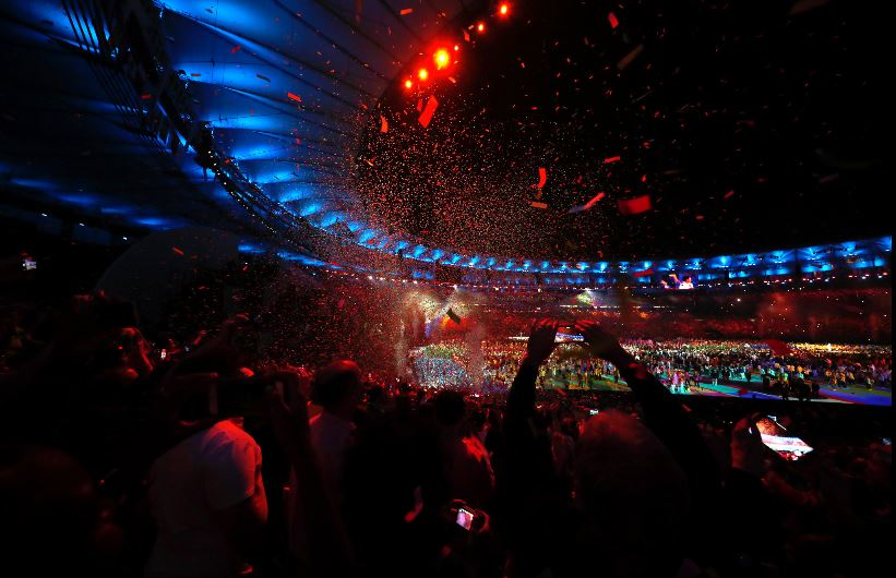 Opening Ceremony Maracana Stadium 2016August 5_New York Times