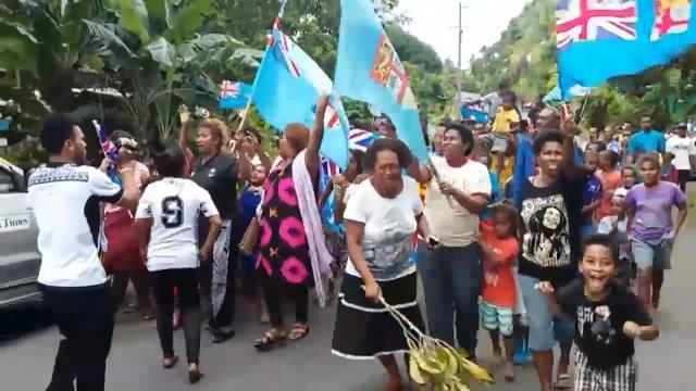Fijians Celebrate