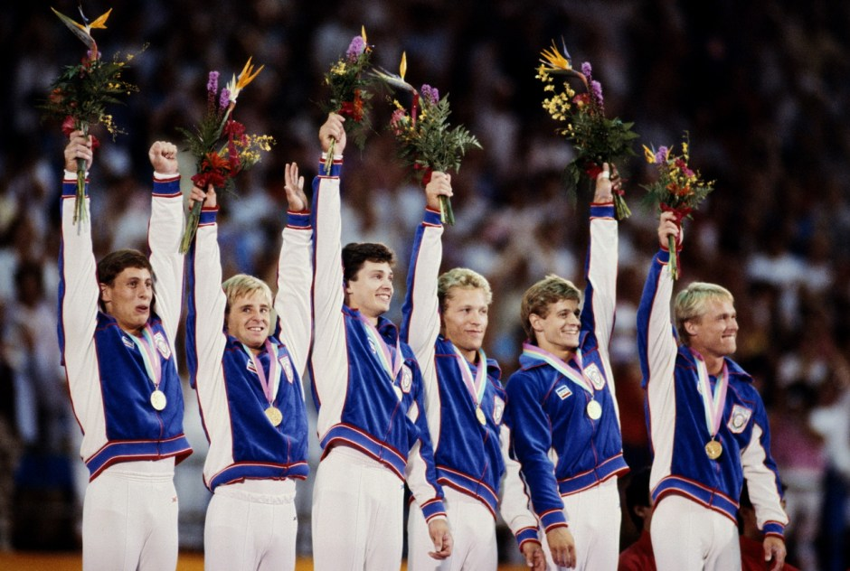 GYMNASTICS USA TEAM CELEBRATE