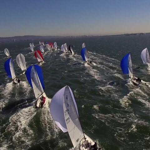 drone-shot-sailing