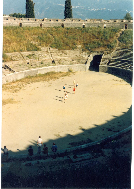 Running a stade in Greece