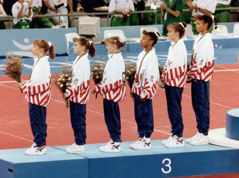 1992 US women's gymnastics team Barcelona