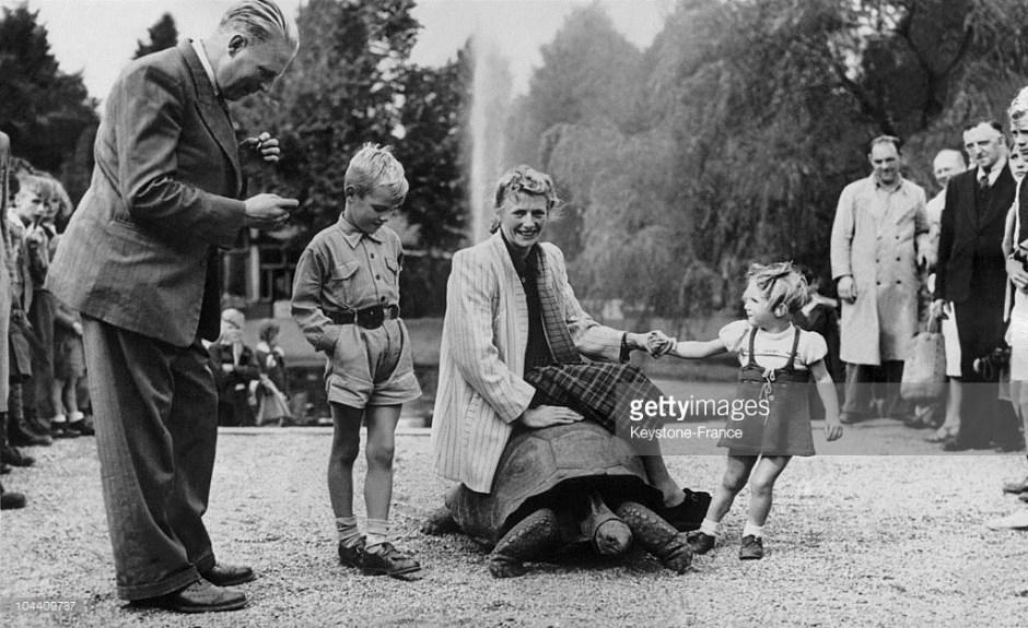 Fanny Blankers Koen with her children 2