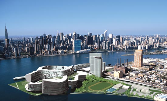 Olympic Village envisioned in Hunter's Point Queens