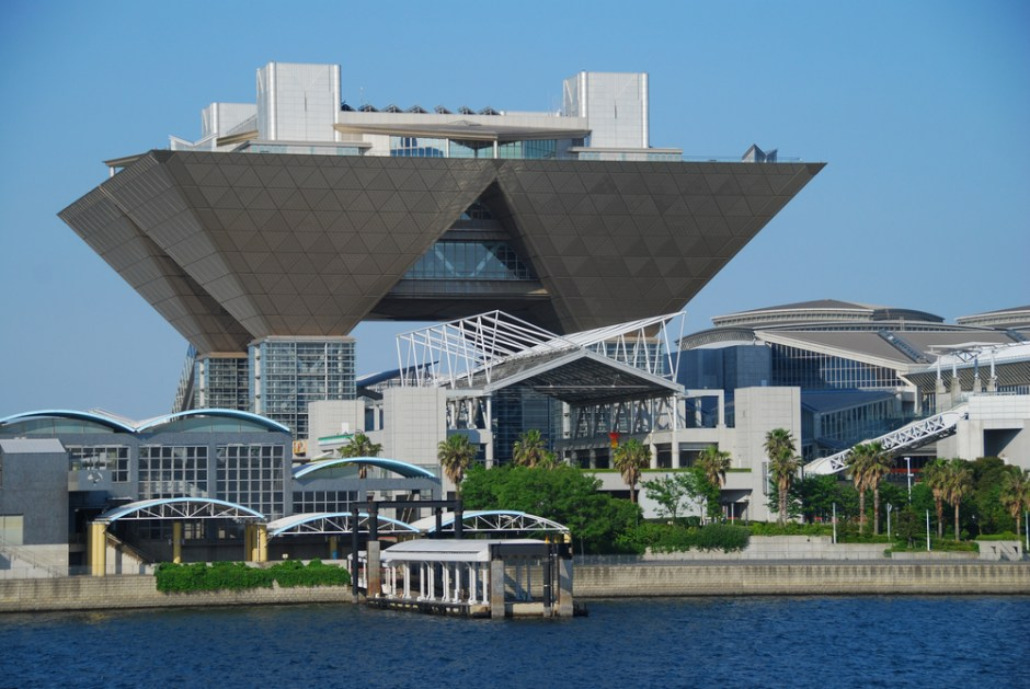 Tokyo Big Site in Odaiba