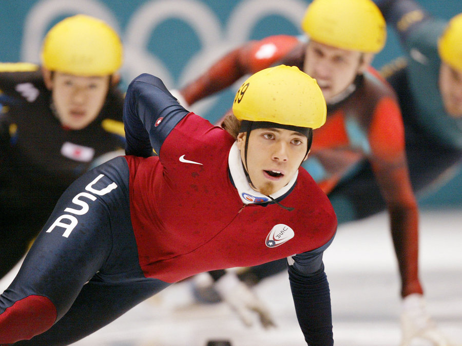 Apolo Ohno Salt Lake City Games