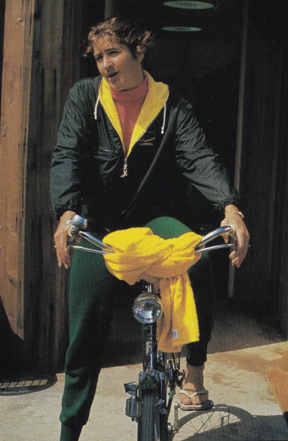 Dawn Fraser on a bicycle_The Olympic CEntury XVIII Olympiad