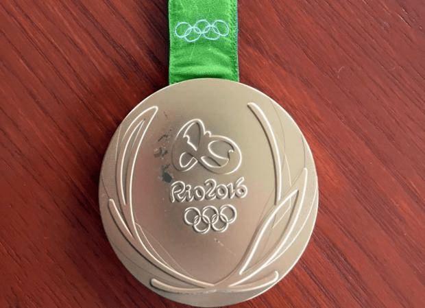 Kevin Synder's gold medal