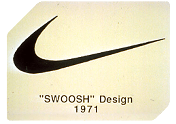 Original 1971 Swoosh Design Nike