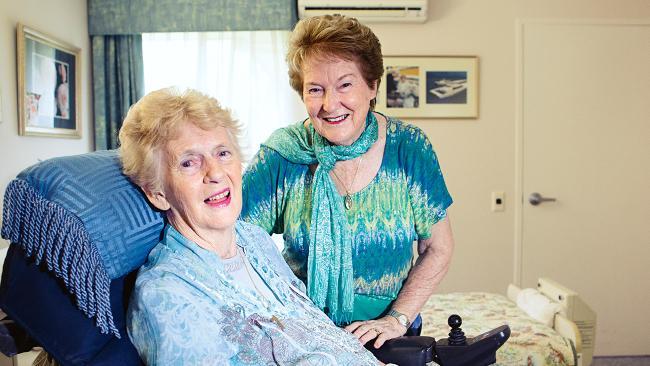 Betty Cuthbert 3_with Rhonda Gilam