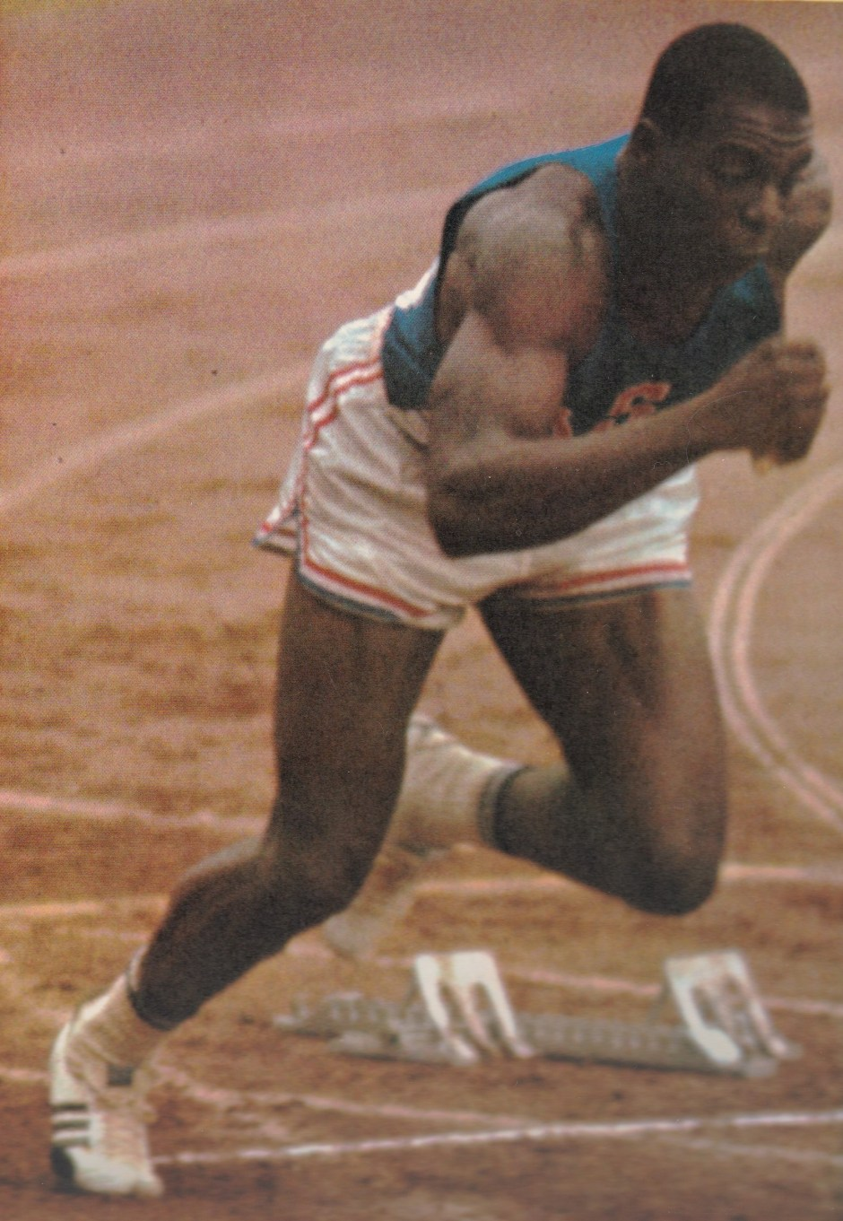 Bob Hayes_The Spectacle of Tokyo Olympics_1