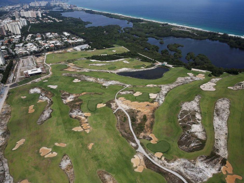 Rio Golf Course a year later