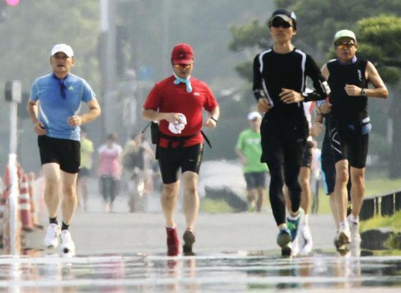 running in heat 2