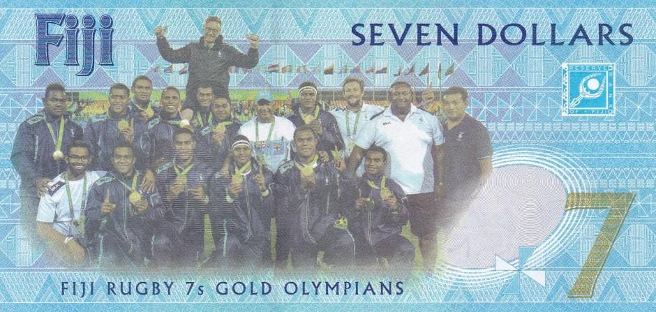 Fiji Seven Dollar Bill_Back