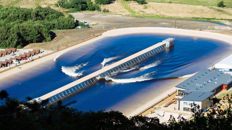 Snowdonia wave pool