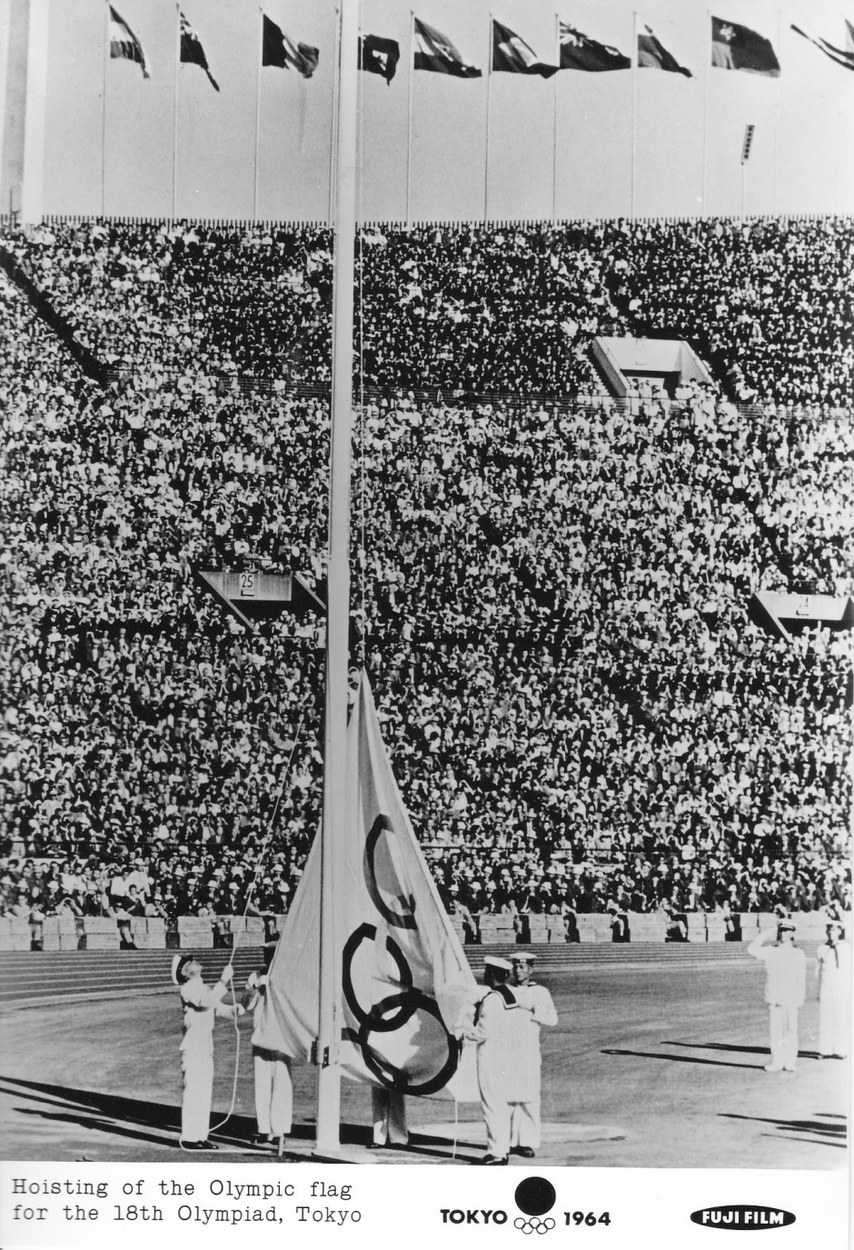 Fuji Film 5_Hoisting of the Olympic Flag