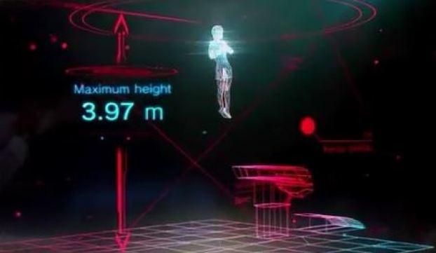 Fujitsu 3D Gymnastic Modeling