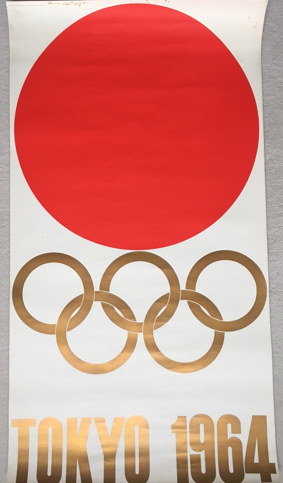 My Kamekura Yusaku original 1964 Poster