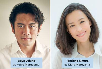 Seiyo Uchino and Yoshino Kimura