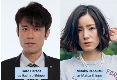 Taizo Harada and Misako Renbutsu