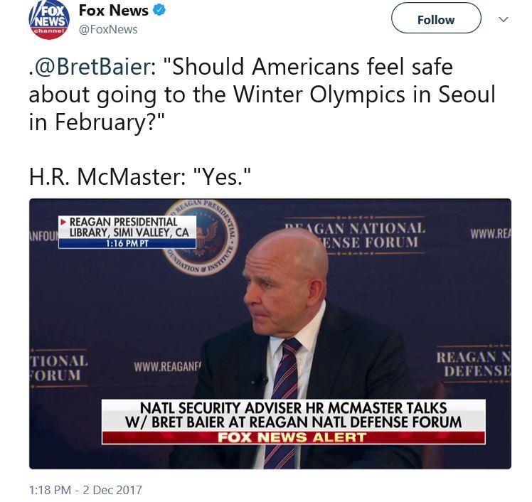 McMaster tweet