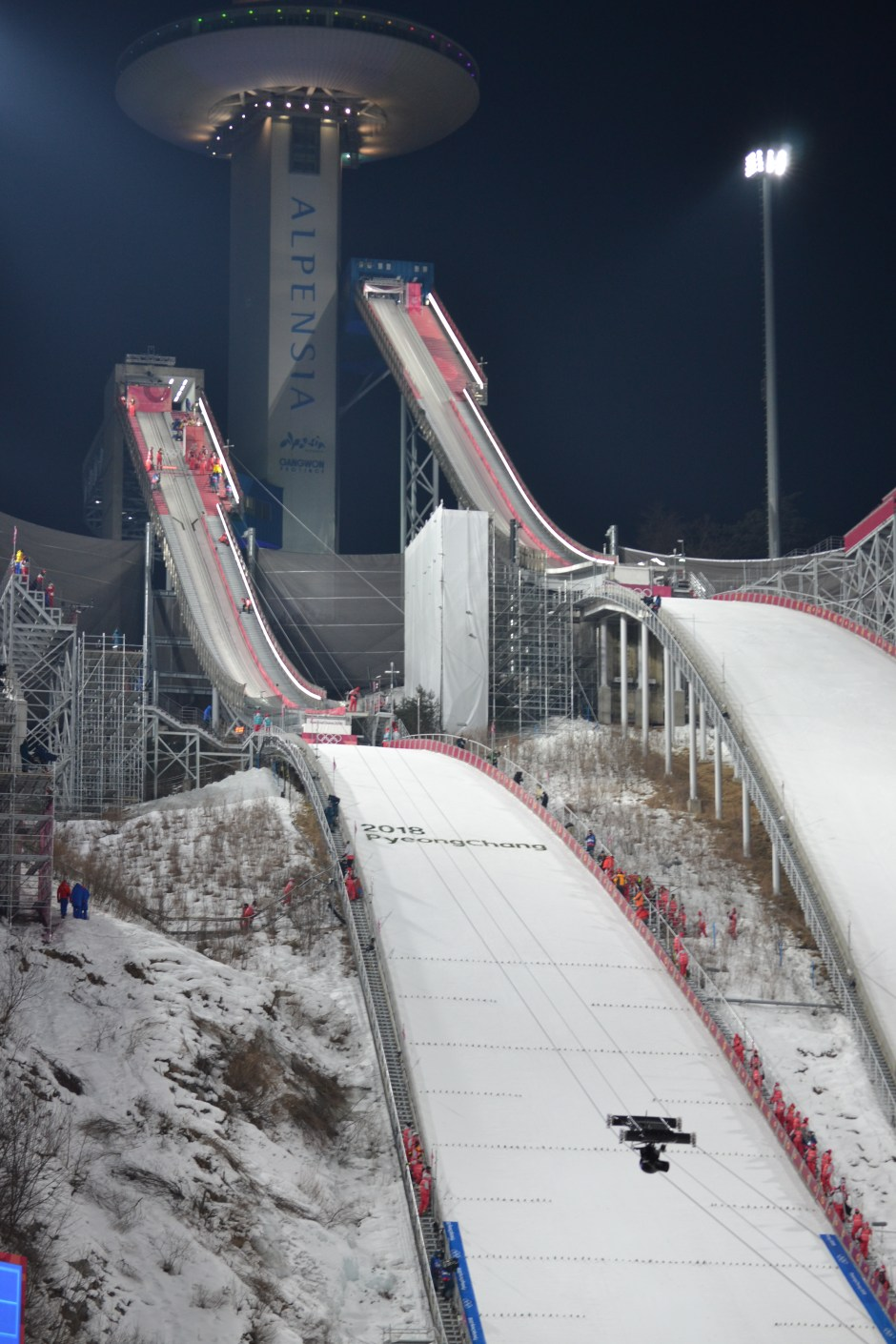 Alpensia Ski Jumping Venue !