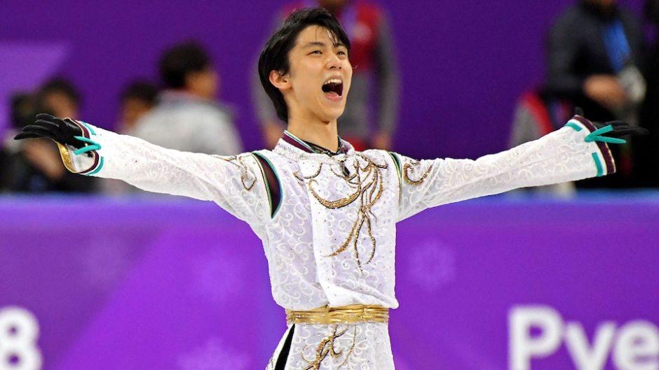 Yuzuru Hanyu victorious