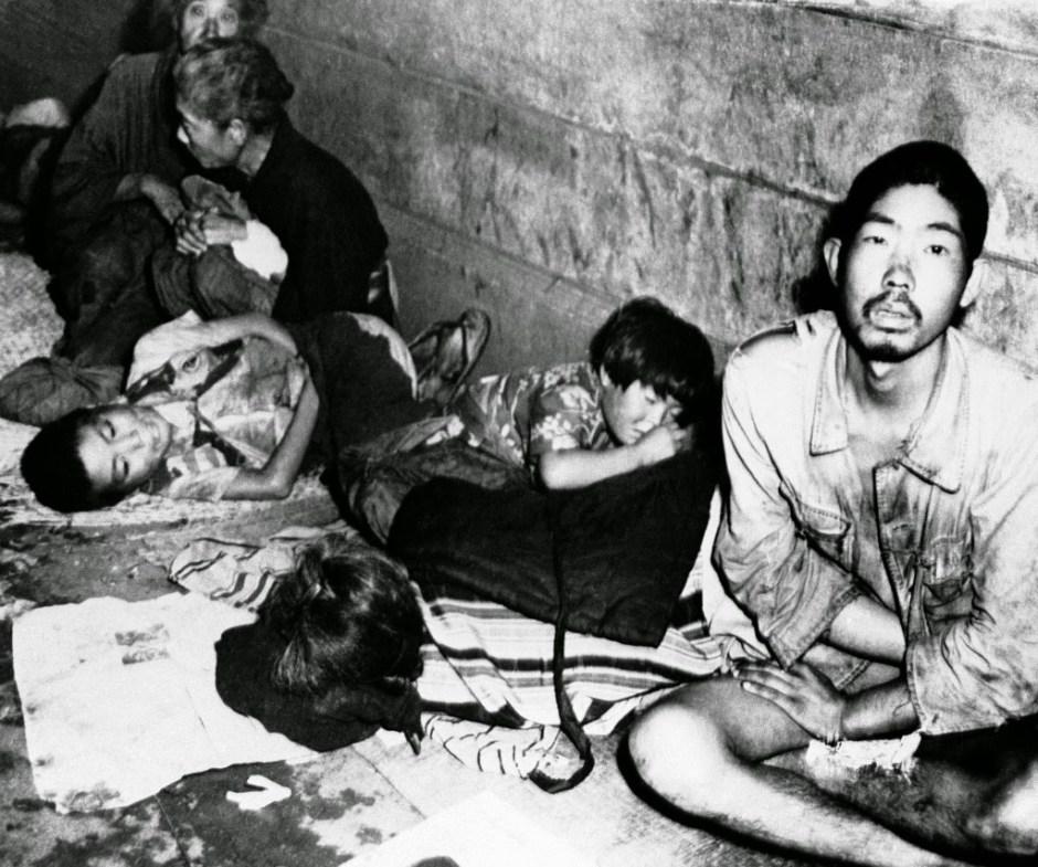 homeless in postwar japan