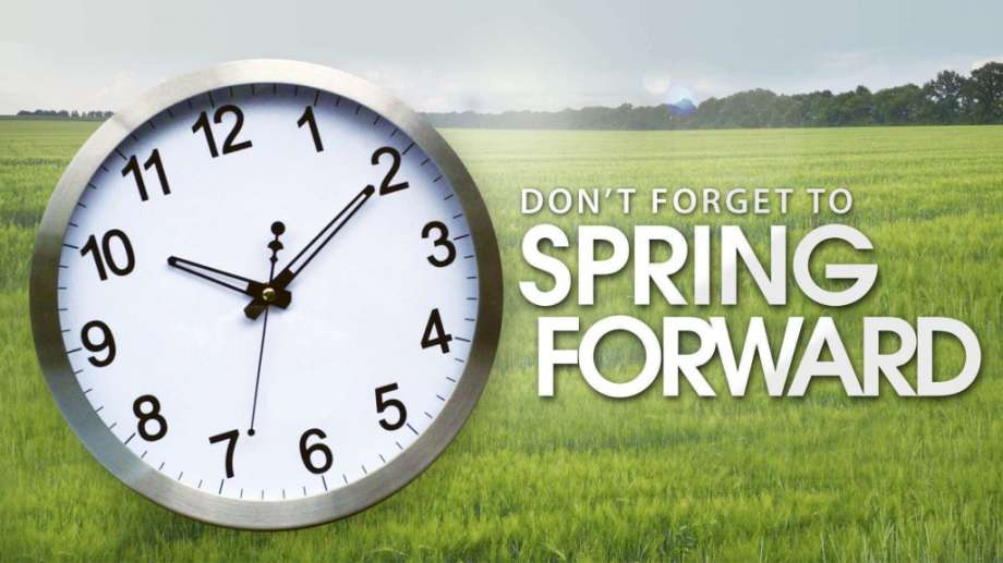 Spring Forward daylight saving