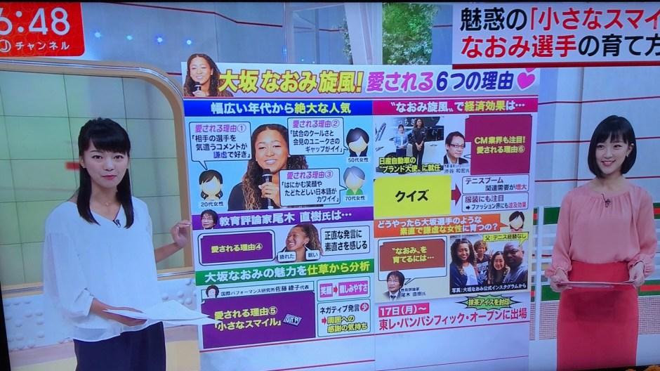 Terebi Asahi Live_Naomi Osaka